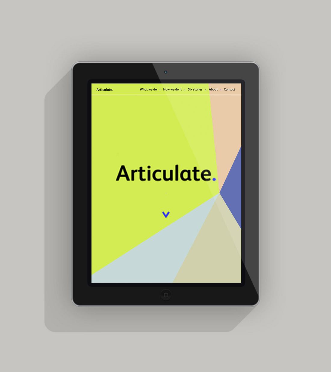 Articulate-IPAD